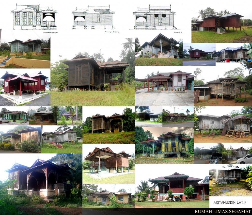 Gambar oleh: Aisyamuddin Latip | Gambar berikut adalah kompilasi rumah-rumah Limas di sekitar daerah Segamat.