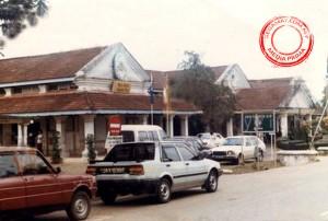 Gambar oleh: Media Prima | Bangunan lama Majlis Daerah Segamat pada tahun 1986