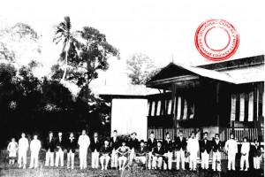 Gambar oleh: Segamat Cricket Club | Segamat Rest House pada tahun 1927