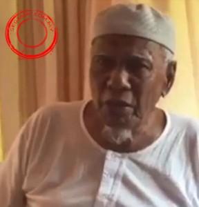 Tuan Imam Hj. Zakaria Yaacob, 81. Penduduk yang sudah lama menetap di Kg. Alai, Gemereh.
